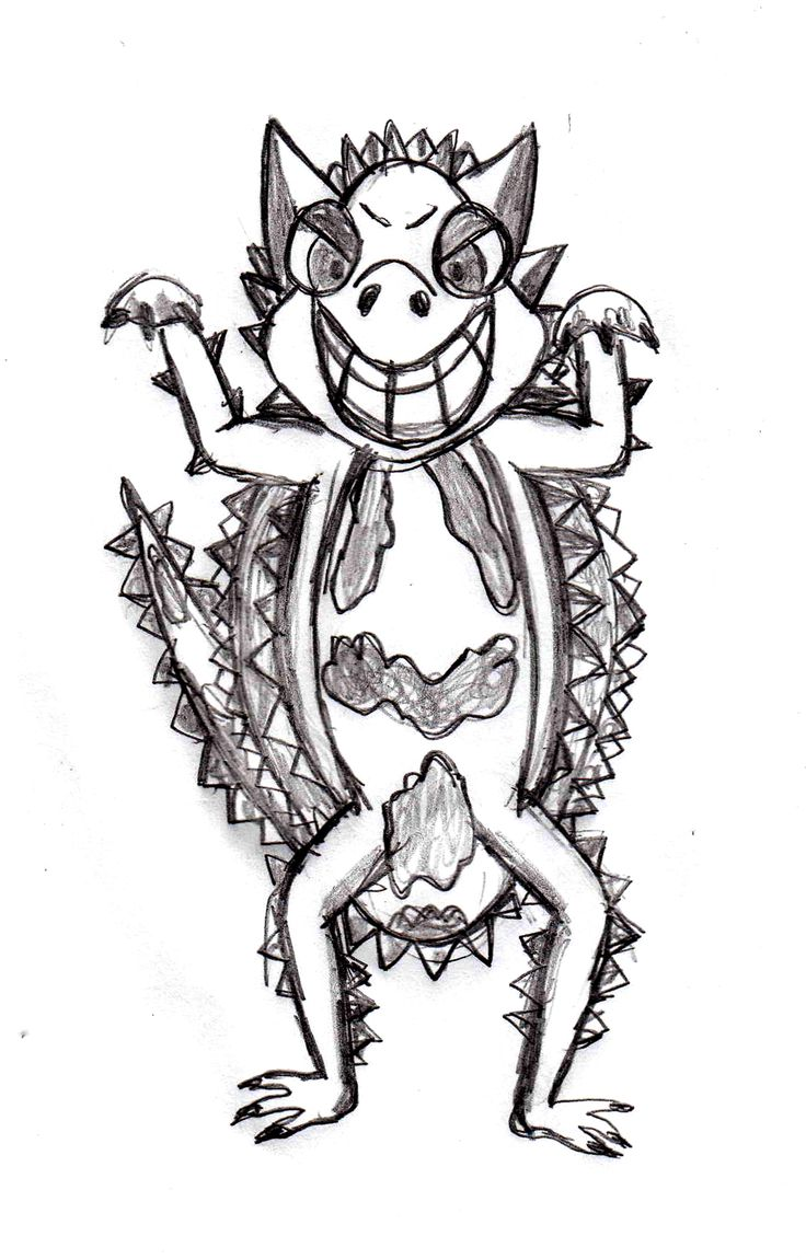 Thorny Devil clipart #4, Download drawings