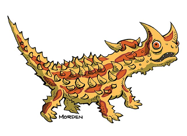 Thorny Devil clipart #18, Download drawings