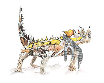 Thorny Devil svg #16, Download drawings