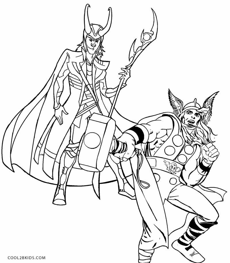 Loki coloring #18, Download drawings