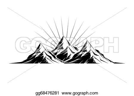 Three Peaks clipart #13, Download drawings