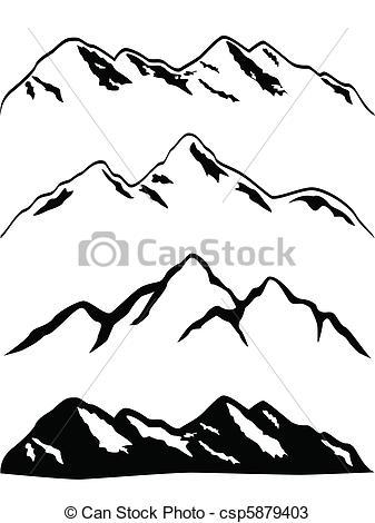 Three Peaks clipart #14, Download drawings