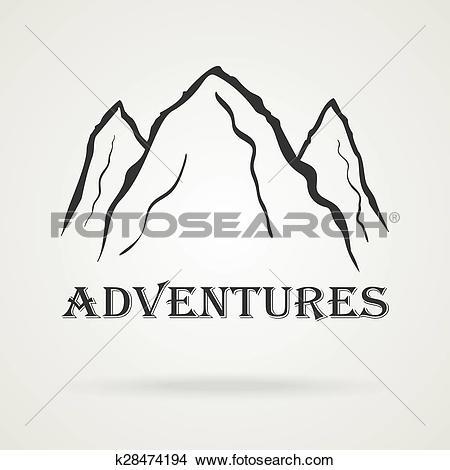 Three Peaks clipart #10, Download drawings