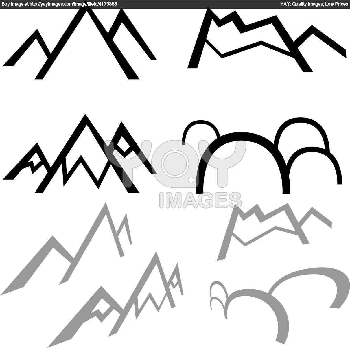 Three Peaks clipart #17, Download drawings