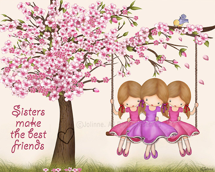Three Sisters clipart #9, Download drawings