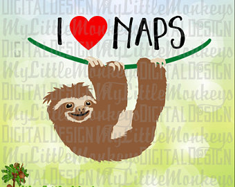Three Toed Sloth svg #10, Download drawings