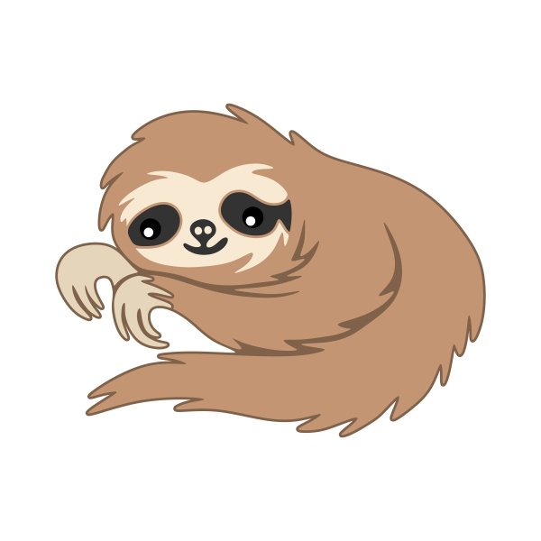 Three Toed Sloth svg #13, Download drawings