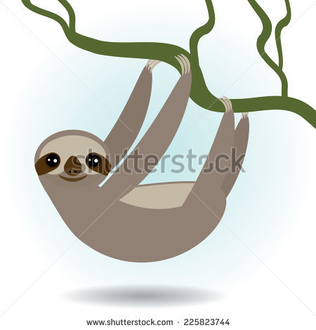 Three Toed Sloth svg #16, Download drawings