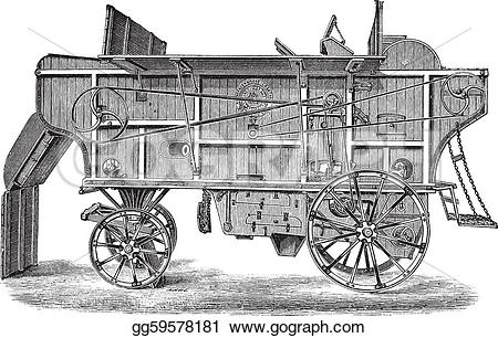 Thresher clipart #14, Download drawings