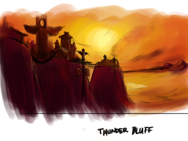 Thunder Bluff coloring #3, Download drawings