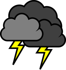 Thunder Storm clipart #3, Download drawings