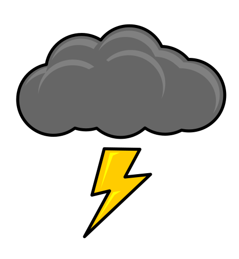 Thunder Storm clipart #13, Download drawings