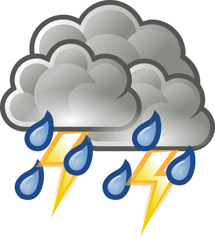 Thunder Storm clipart #1, Download drawings
