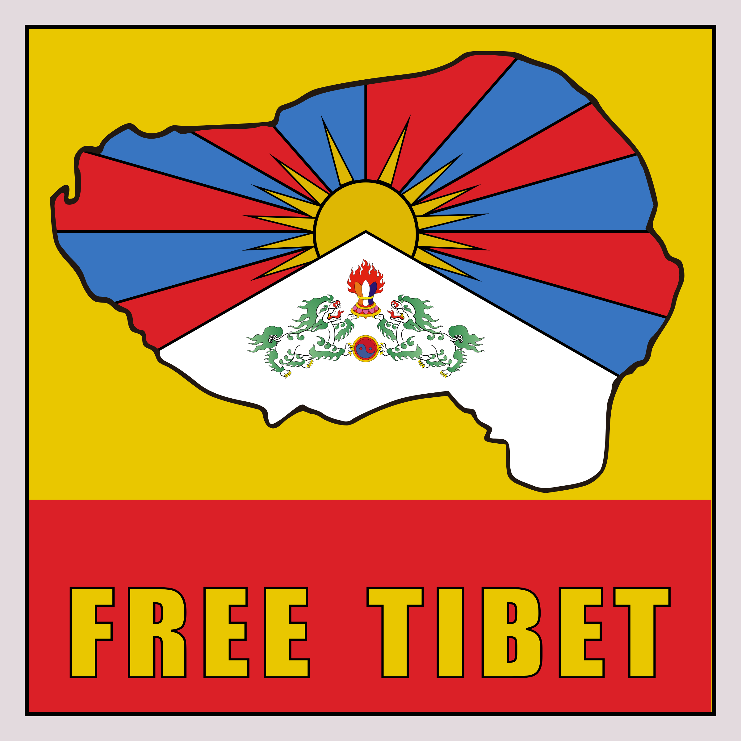 Tibet clipart #4, Download drawings