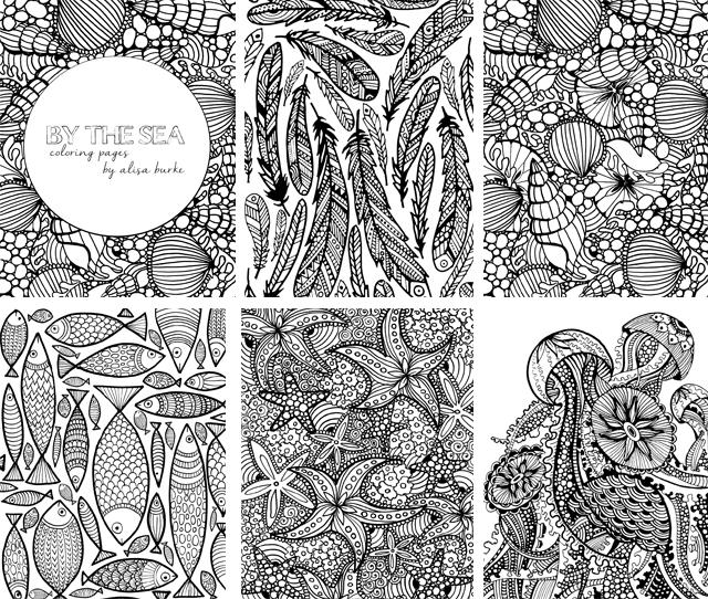 Tidal coloring #12, Download drawings