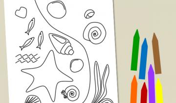 Tidal coloring #9, Download drawings