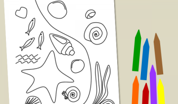 Tide Pool coloring #10, Download drawings