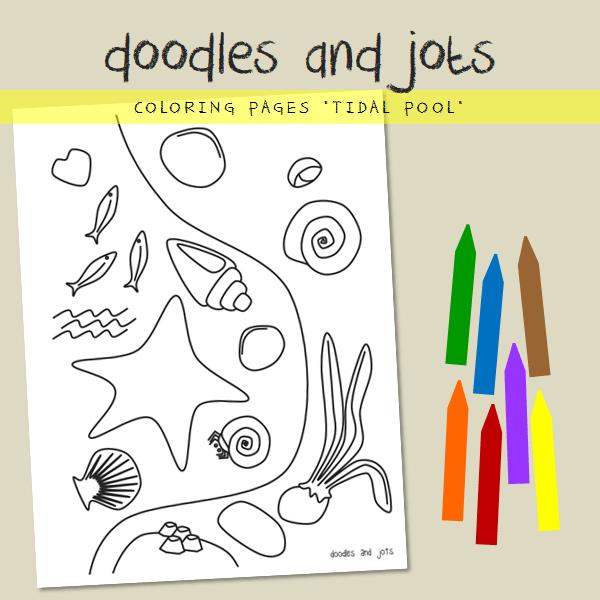 Tidal coloring #2, Download drawings