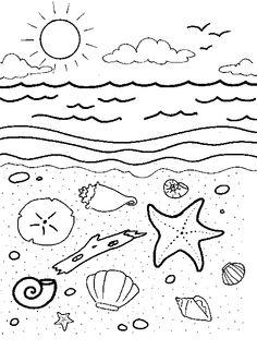 Tide Pool coloring #12, Download drawings