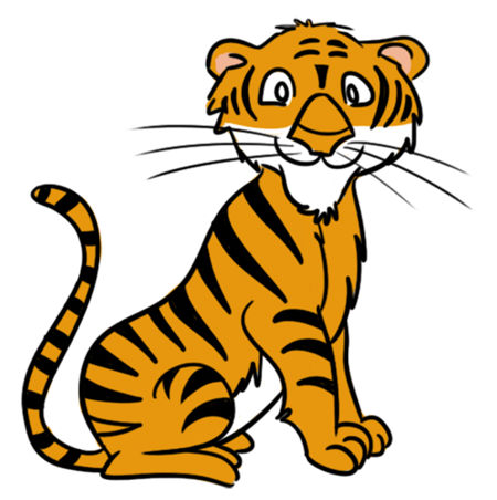 Tiger clipart #5, Download drawings