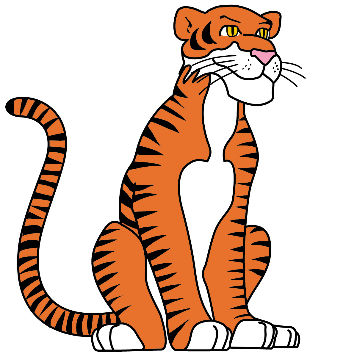 Tiiger clipart #6, Download drawings
