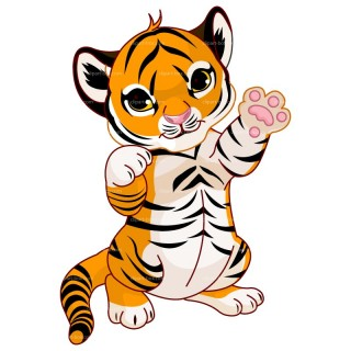 Tiger clipart #11, Download drawings
