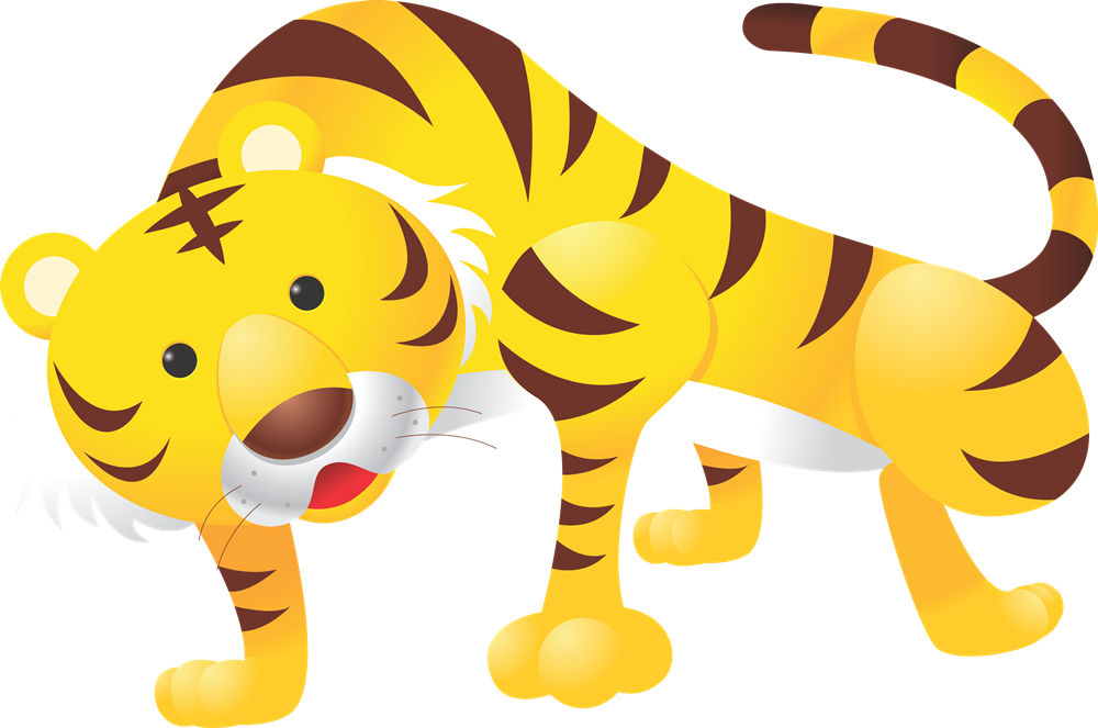 Tiger clipart #9, Download drawings