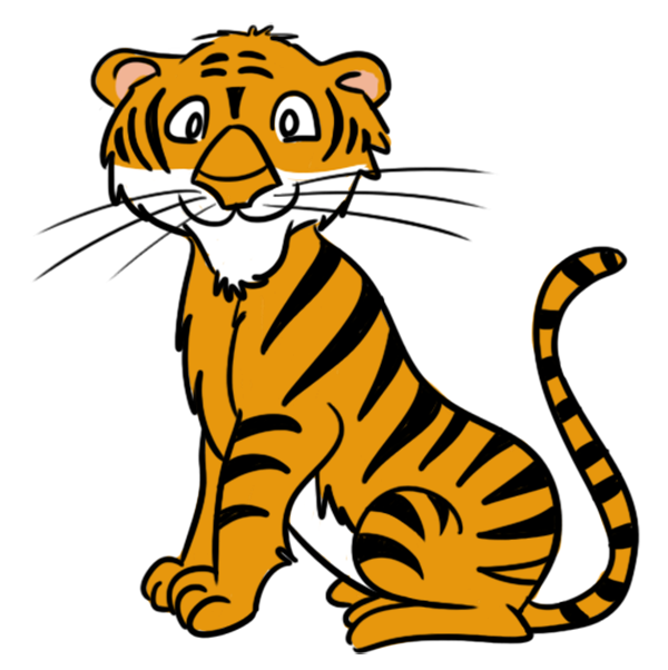 Tiger clipart #10, Download drawings