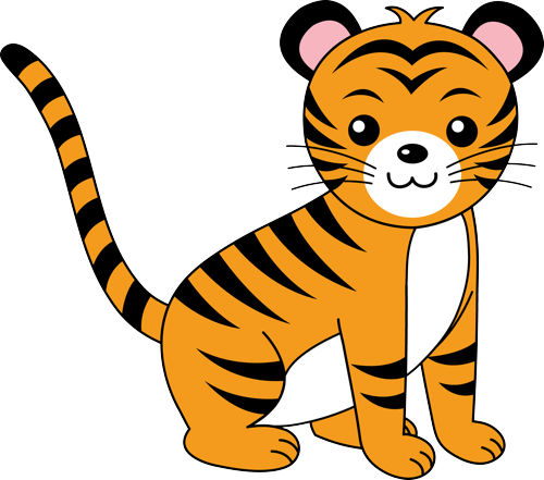 Tiger clipart #13, Download drawings