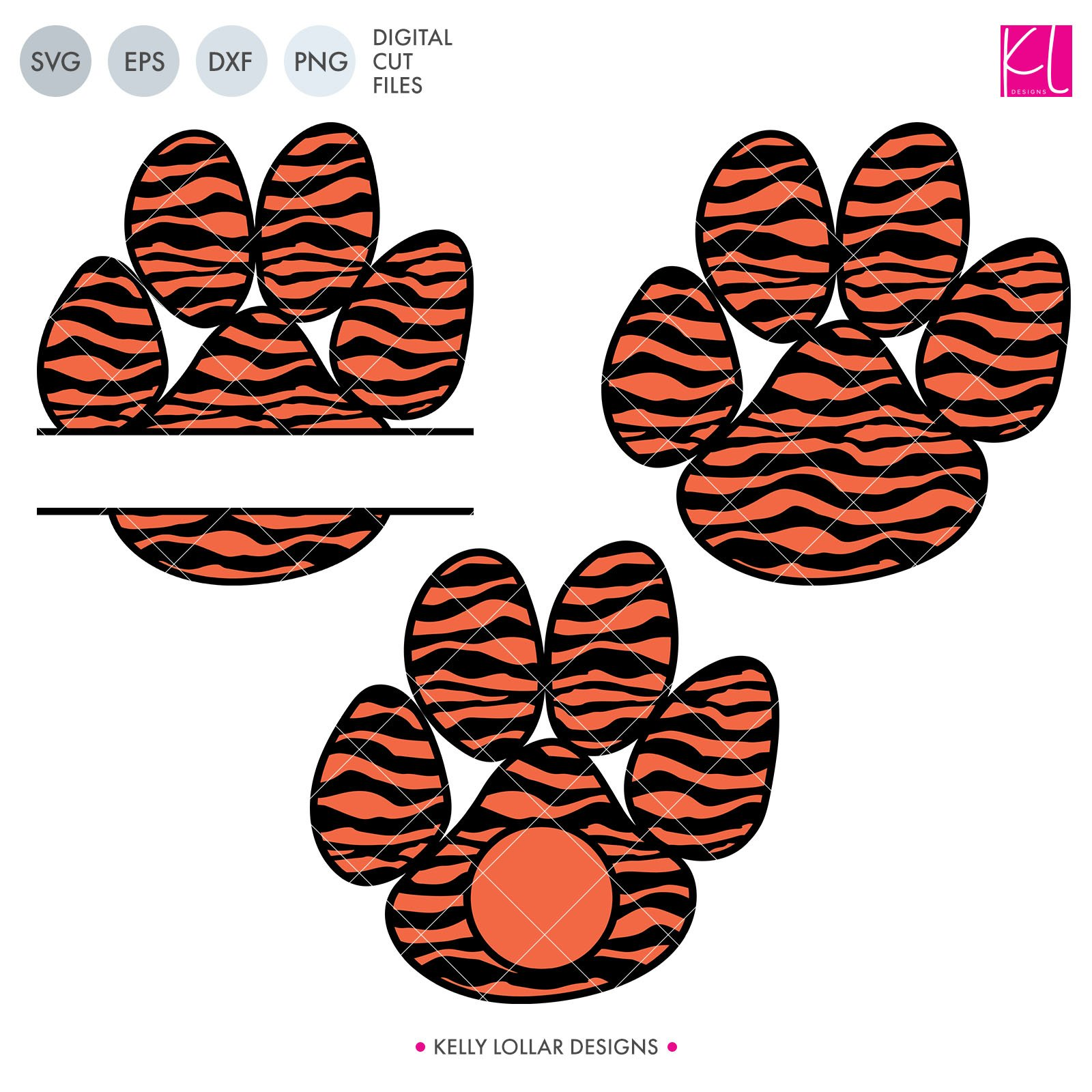 tiger paw svg #592, Download drawings