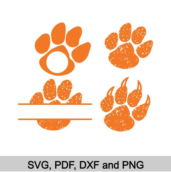 tiger paw svg #619, Download drawings