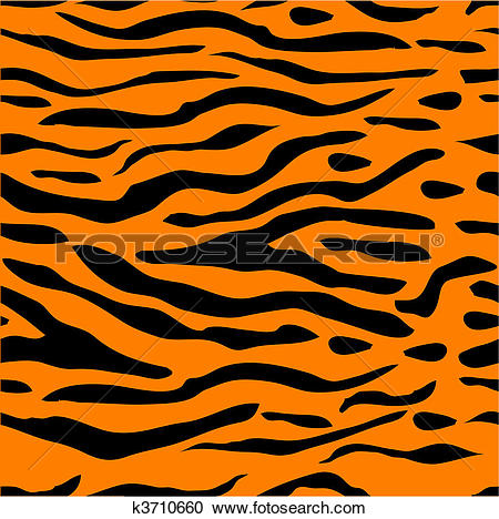 Tiger Print clipart #12, Download drawings
