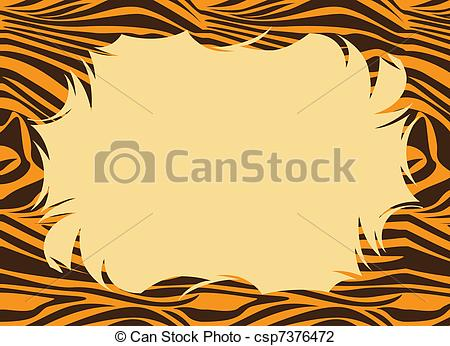 Tiger Print clipart #11, Download drawings