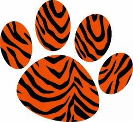 Tiger Print clipart #4, Download drawings