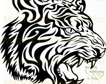 Tiger Print svg #13, Download drawings