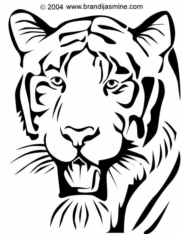 Tiger svg #10, Download drawings
