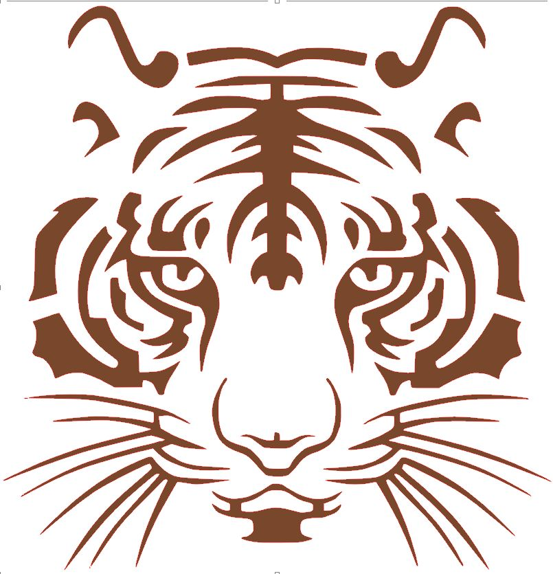 Tiger svg #9, Download drawings