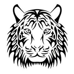 White Tiger svg #16, Download drawings