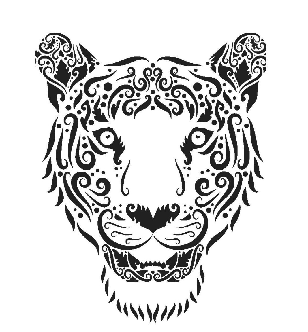 White Tiger svg #20, Download drawings