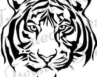 White Tiger svg #18, Download drawings