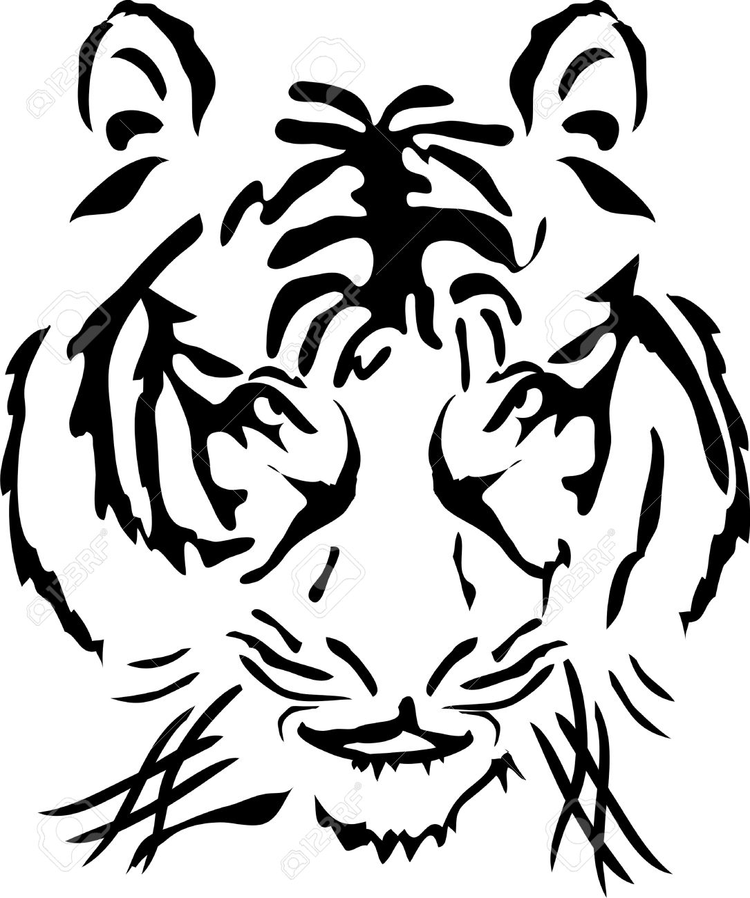 Tigre Bengala clipart #5, Download drawings
