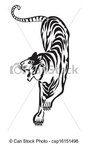 Tigre Bengala clipart #3, Download drawings