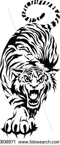 Tigre Bengala clipart #20, Download drawings