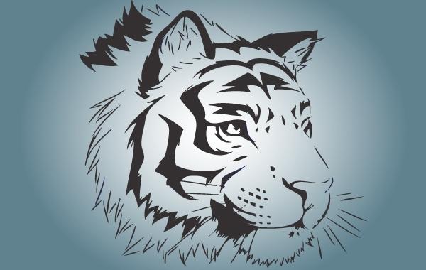 Tigre Bengala svg #6, Download drawings