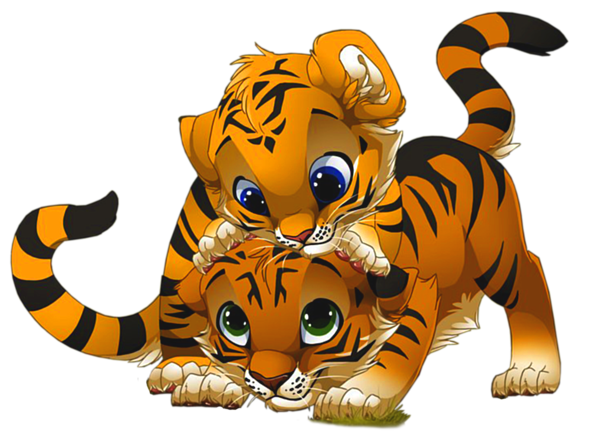 Tigres clipart #3, Download drawings