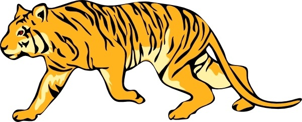 Tigres clipart #14, Download drawings
