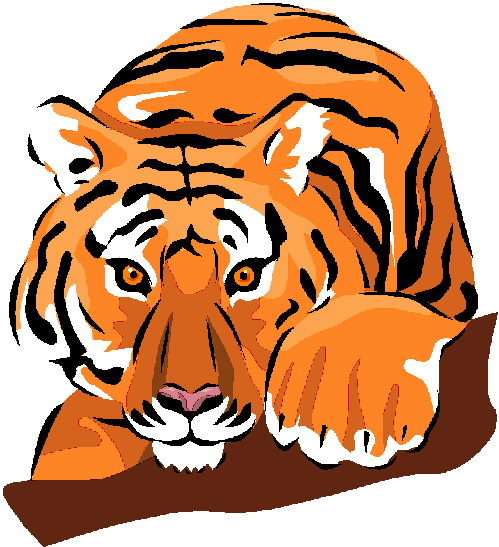 Tigres clipart #5, Download drawings