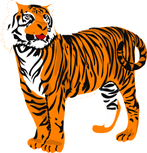 Tigres clipart #19, Download drawings