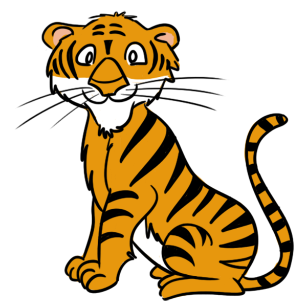Tigres clipart #16, Download drawings