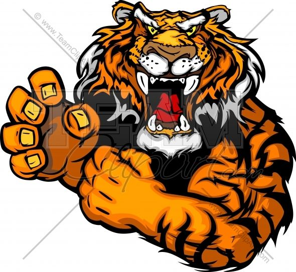 Tigres clipart #9, Download drawings
